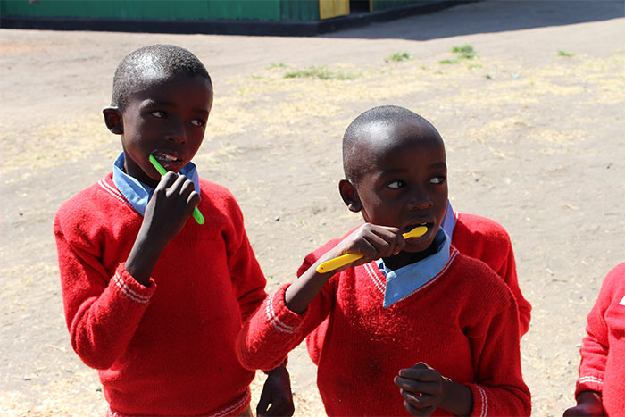 The-Kenyan-Child-Foundation-Ourmission-brushing-teethjpg